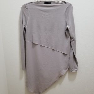 ZARA W&B Gray Top
